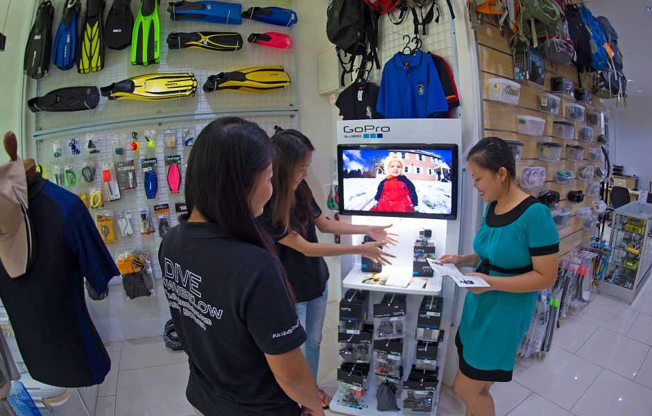 sabah downbelow dive shop