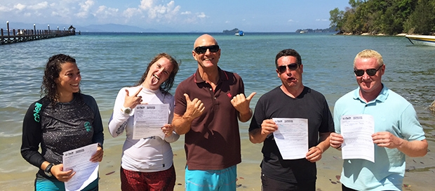 padi instructor development course, idc, instructor examination, go pro team, padi divemaster, platinum padi course director, sabah, borneo, kota kinabalu dive shop, sabah travel centre, padi 5 star idc dive centre, mount kinabalu, lows peak,