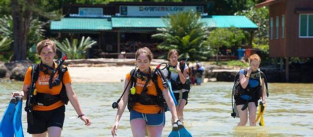camps international, summer, school group travel, downbelow marine and wildlife adventure, padi open water diver, padi 5 star idc dive centre, sabah travel centre, borneo