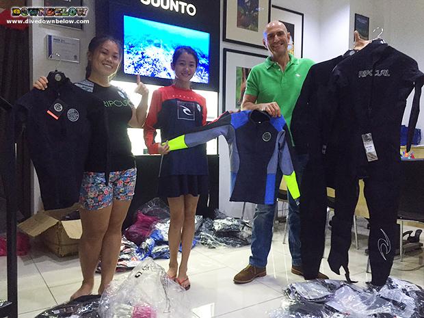 78b8c57748 Rip Curl brand arrives at Downbelow's KK Dive Shop! - Downbelow ...