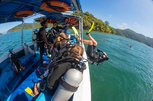 Easy Access To Dive Sites
