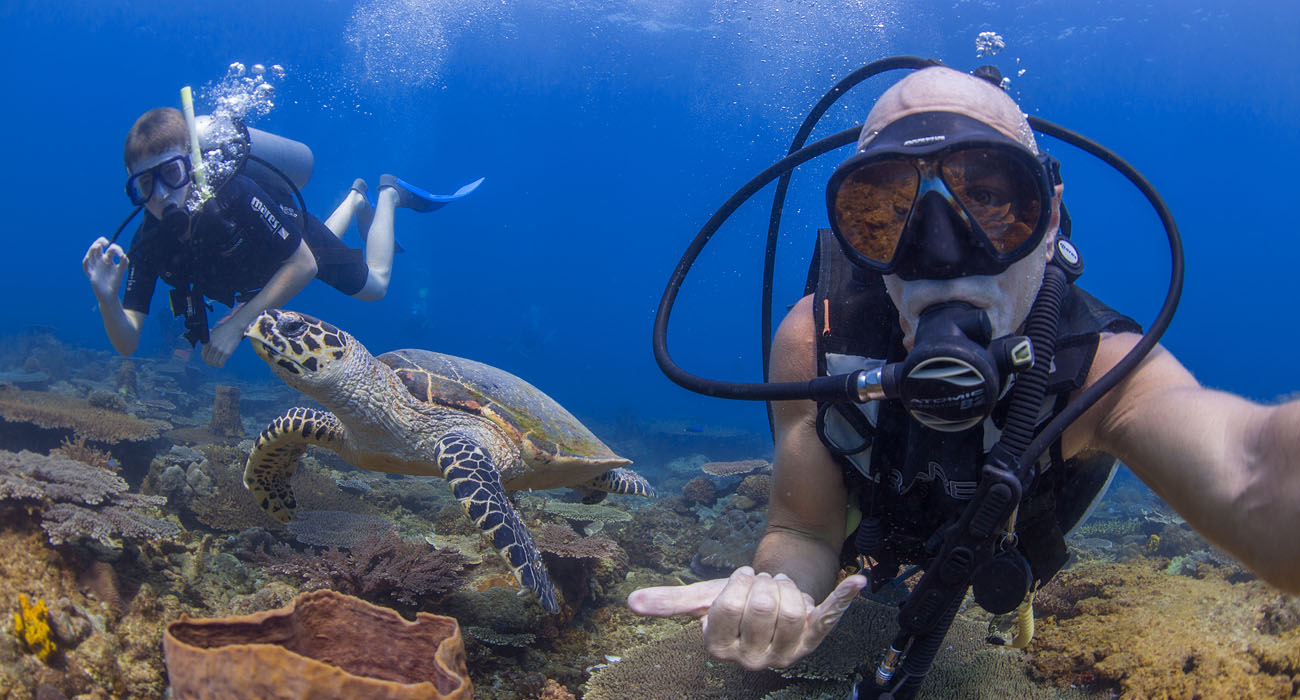 PADI Advanced Open Water Course Accommodation Package