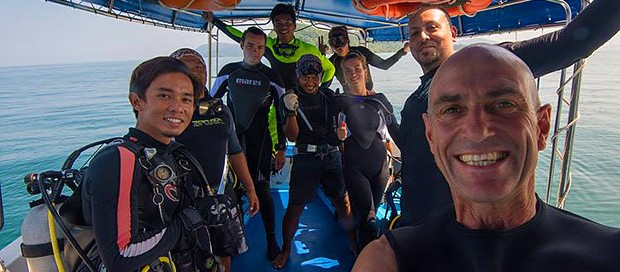 ghost net removal, illegal fishing net, fishing net removal, kota kinabalu, marine park, tunku abdul rahman park, padi professional, padi instructors, go pro, marine ambassadors, padi open water scuba instructor, go pro intern, professional diving intern, go pro diver,