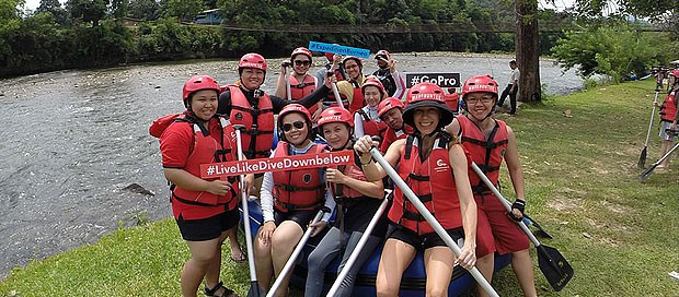 sabah, borneo, kota kinabalu, white water rafting, kk, downbelow marine and wildlife adventures, kiulu river,