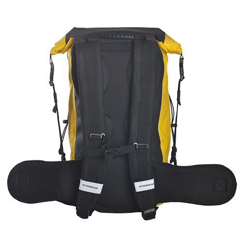 Hypergear Dry Pac Gold 30L Waterproof Backpack - Downbelow ...