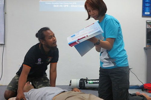 PADI Emergency First Response Instructor Course