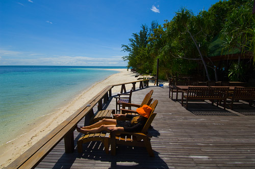 Lankayan Island oozes peace and tranquillity.