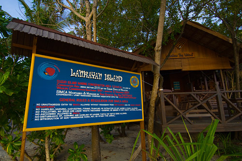 Lankayan is one of three islands that form the Sugud Island Marine Conservation Area (SIMCA).