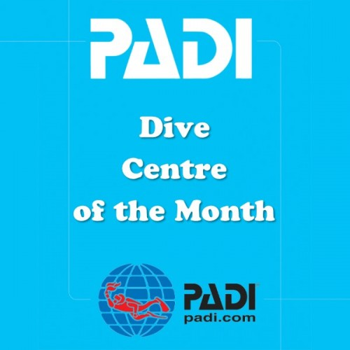 PADI Dive Centre of the Month