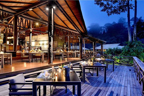 Restaurant Borneo Rainforest Lodge