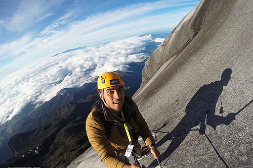 Via Ferrata Climber