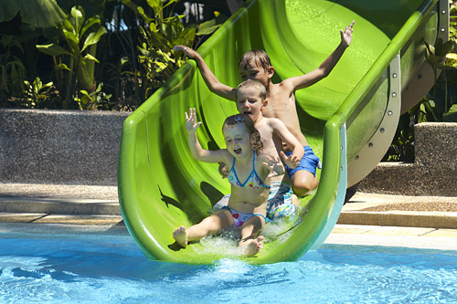 Rasa Ria Water Slide for the Kids