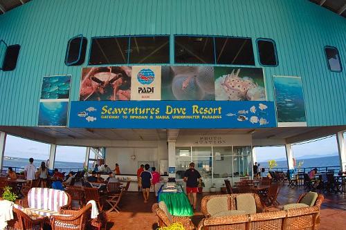 Seaventures Dive Resort Sabah Borneo