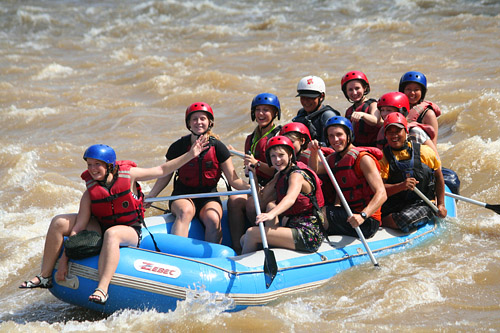 White Water Rafting PADAS