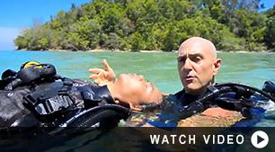PADI Rescue Diver Excersise