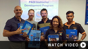 PADI IDC Classroom at Downbelow