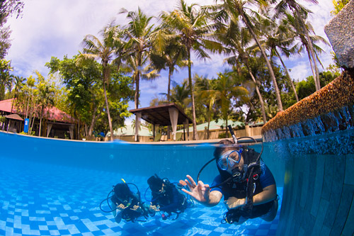 Beach Accommodation Scuba Diving
