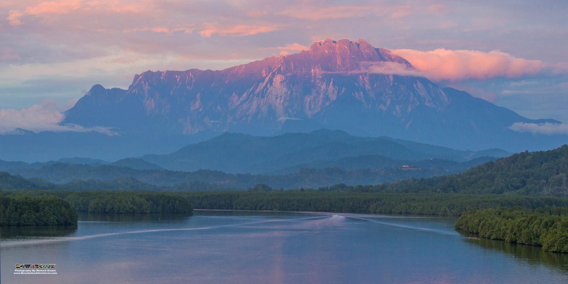 Mount Kinabalu River View