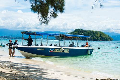 PADI Dive Centre Manukan Island