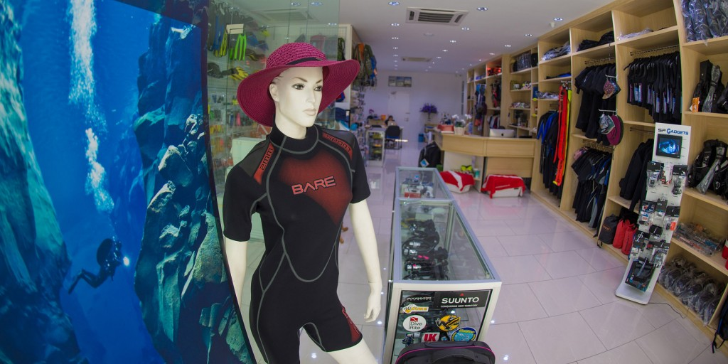 What You Get from a Dive Shop in Kota Kinabalu