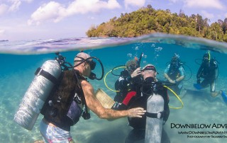 What is it Like Training in Borneo With an Elite Team of Scuba Instructors ?
