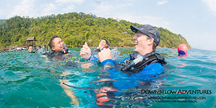 PADI Instructor Development Course Asia