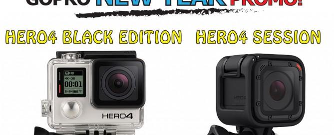 GoPro Camera New Year Promotion