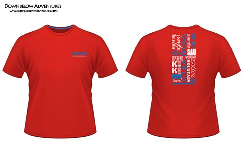 Downbelow 2ndSkin Branded Adventure T-Shirt