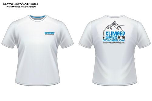 Downbelow 2ndSkin Branded Adventure T-Shirt