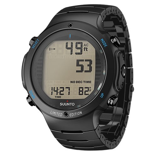 Suunto Dive Computer D6i Novo All Black Steel