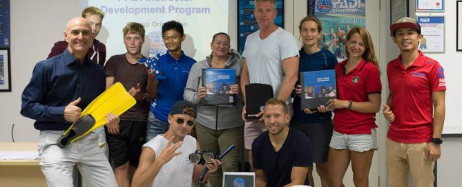 June 2017 PADI Instructor Development Course