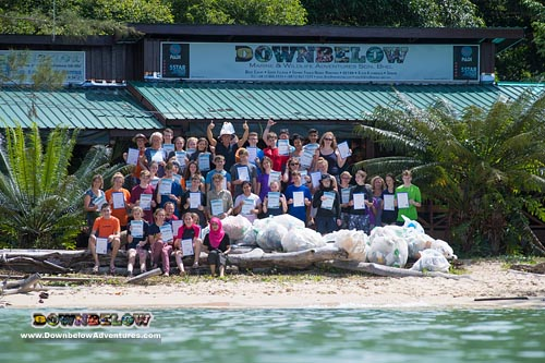 Project Aware Beach Clean Up
