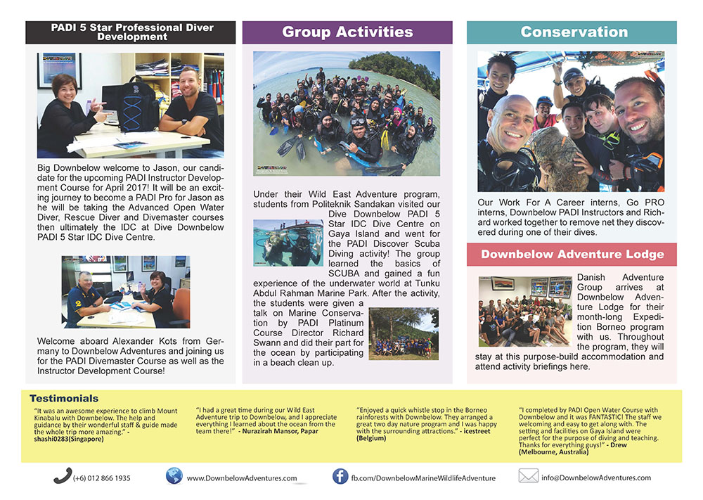 March 2017 Monthly Newsletter