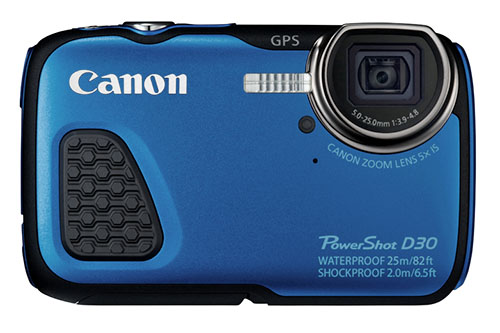Canon Powershot D30 Waterproof Camera