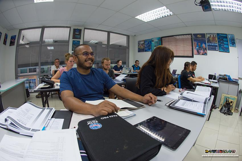 November 2017 PADI Instructor Development Course