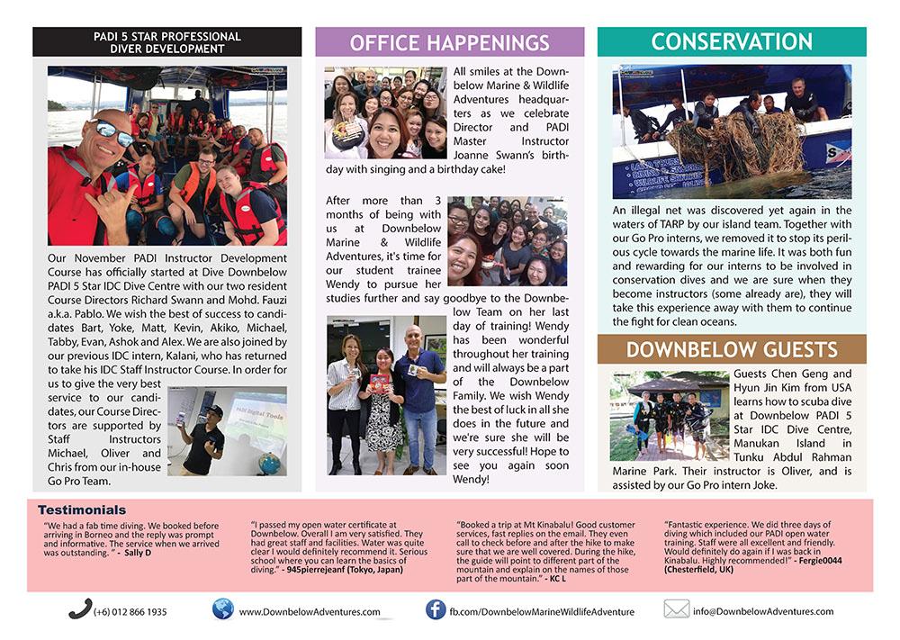 November 2017 Monthly Newsletter