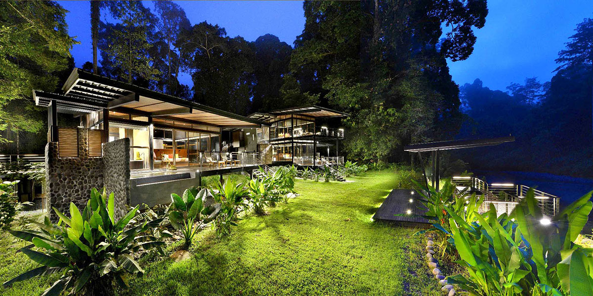 4D3N Borneo Rainforest Lodge Premium Villa