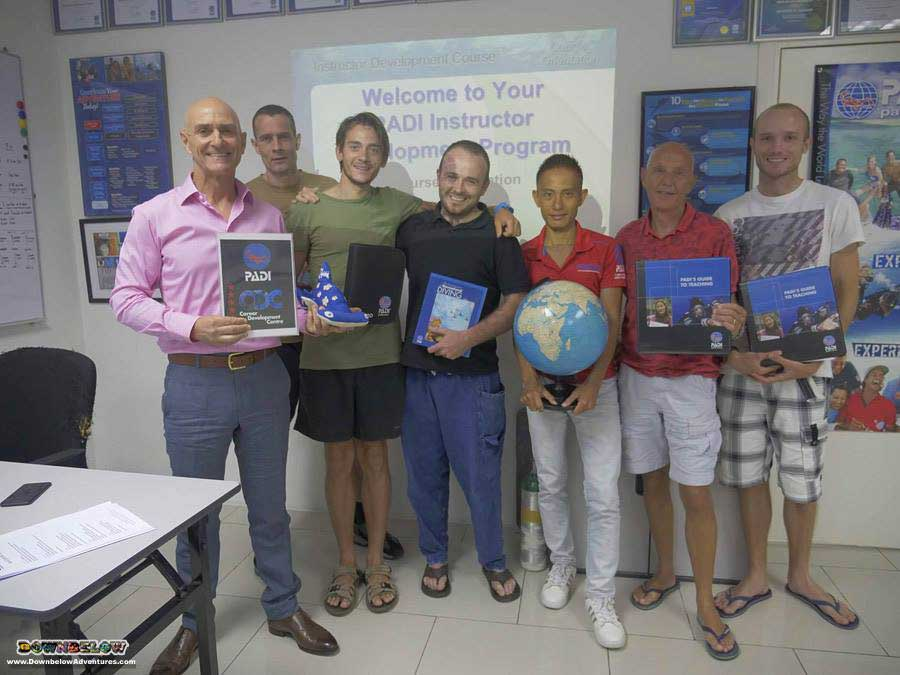 April 2018 PADI Instructor Development Course