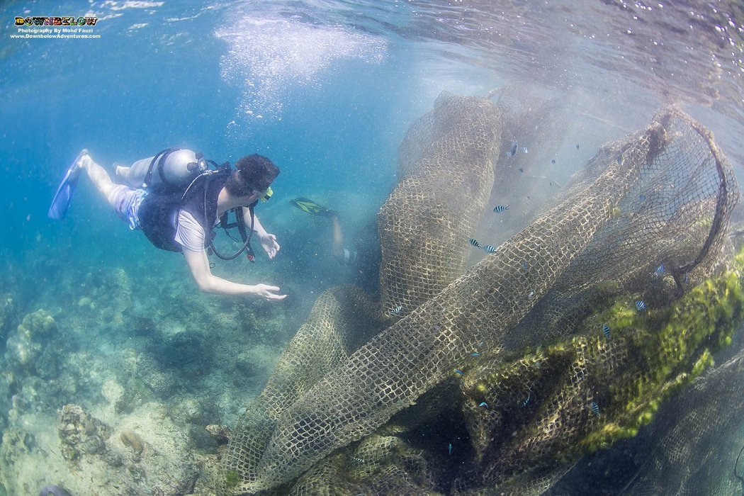 Ghost Net Removal Project