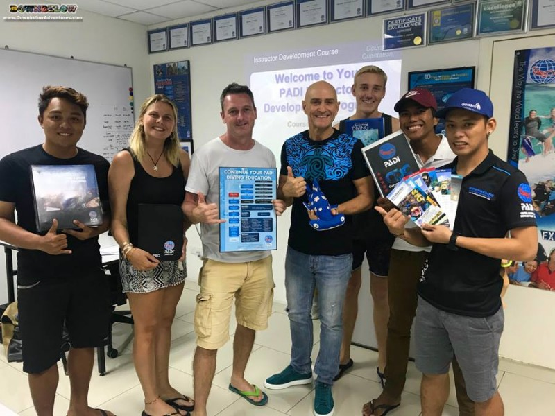 PADI Instructor Development Course July 2018