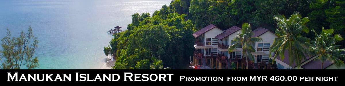 Manukan Island Resort Promotion